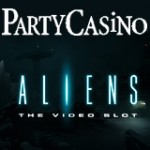 PartyCasino Spil Aliens Video Slot