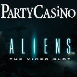 PartyCasino Spiele Aliens Video-Slot