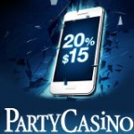 PartyCasino Mobile Cash Back Januar