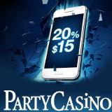 PartyCasino Cashback på Mobil
