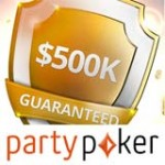 Party Poker Freeroll para 500K torneio