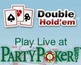 party poker double hold em