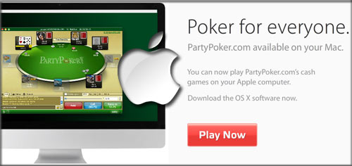 PartyPoker Mac Poker Game Released