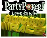 party poker million dollar race