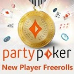 Party Poker Freerolls for Nye Spillere