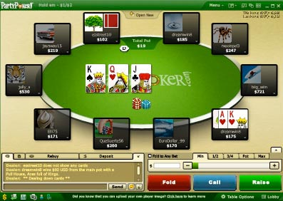 Partypoker new version software and bonus code.