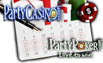party poker party casino Great Gift Giveaway Promotion