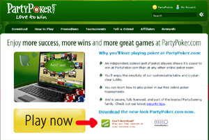 Party Poker anywhere