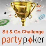 party poker sit and go challenge