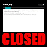 pkr closed