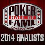 poker hall of fame 2014