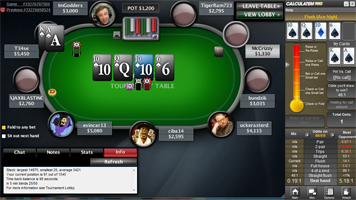Calculate odds poker