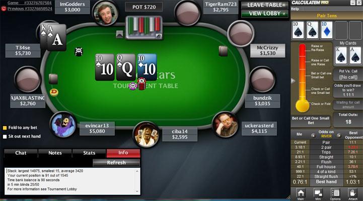 Как играть в турнире в техас покер на одну руку
