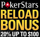 poker stars reload bonus