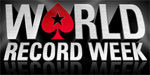 PokerStars world record tournament an attempt to break the world record by holding the biggest ever poker tournament.