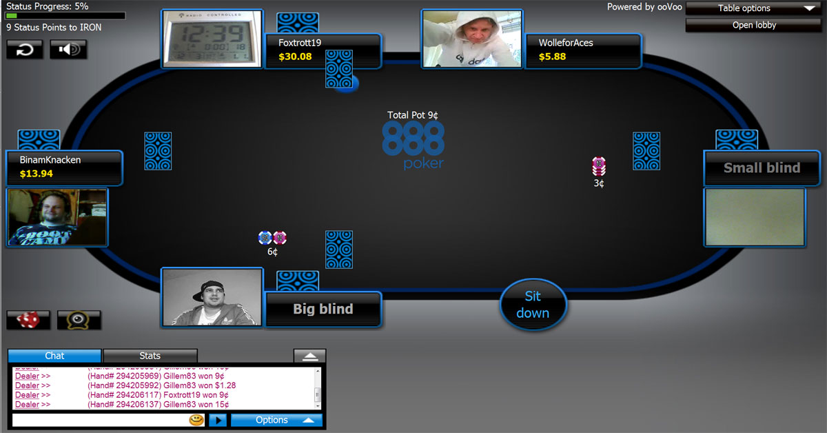 poker download 888