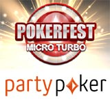 pokerfest micro turbo edition - party poker