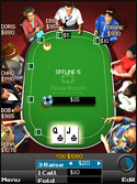 PokerRoom Mobile Tabell