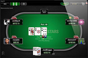 pokerstars application mobile