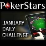 PokerStars Daglige Utfordringer Januar