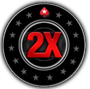 PokerStars player Xanja has turned freerolls into serious cash at the PokerStars million dollar tournament event during the 2x promotion the biggest ever held, he had never even made a deposit at the site.