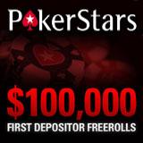 poker stars first deposit freerolls