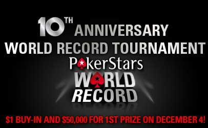 PokerStars Poker record du monde Guinness