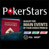 pokerstars main event passport poker stars