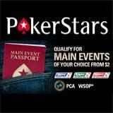 pokerstars main event passport poker stars