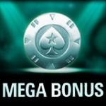 PokerStars Megabonus Belønning