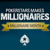 pokerstars millionnaire mois