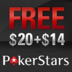 PokerStars Koden FREE20+14 Januari