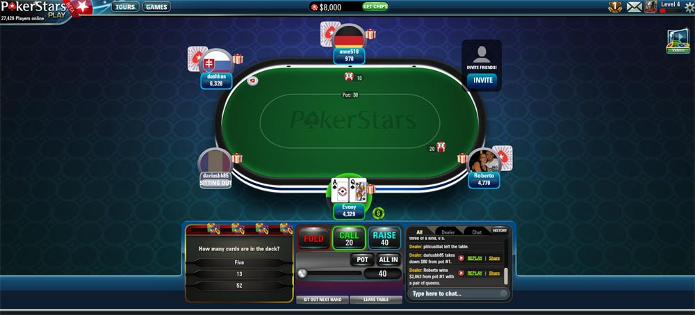 pokerstars bonus reload