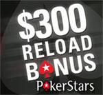 pokerstars reload bonus -