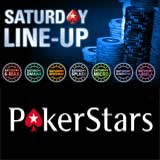 pokerstars saturday line up