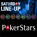 pokerstars saturday line up