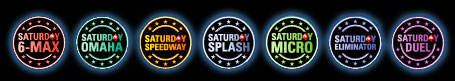 pokerstars saturday tourneys