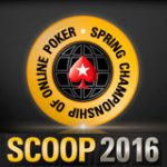 PokerStars SCOOP 2016 Turneringsserie Schema