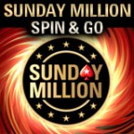 Søndag Million Spin & Go Turneringer