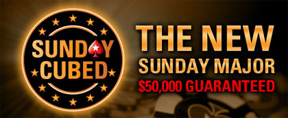 PokerStars Sunday cubed
