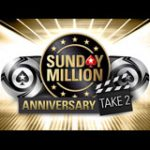 Sunday Million 12. Jubiläumsturnier PokerStars