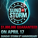 PokerStars Sunday Storm 5-årsjubileum Turnering
