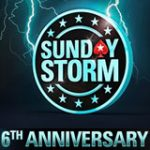 Pokerstars Sunday Storm 6: e årsdagen