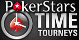 Pokerstars Time Tourneys new tournament format launched based on time.