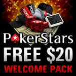 PokerStars Welcome Pack