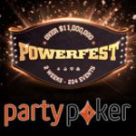 Série de Tournois Party Poker POWERFEST 2017