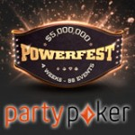 PartyPoker Powerfest 2016 Turneringskalender