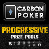 CarbonPoker Progressive Preispools