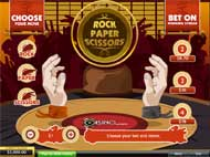 rock paper scissors casino