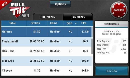Rush poker mobile app download